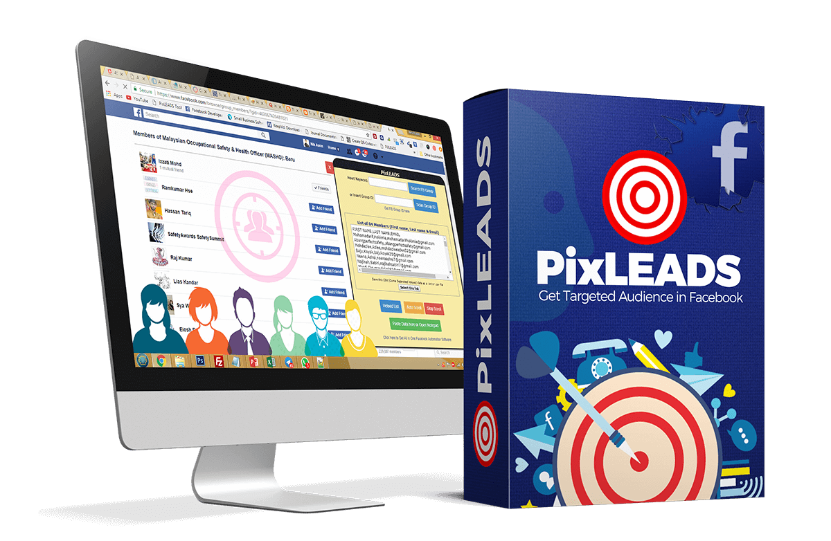 PixLeads features